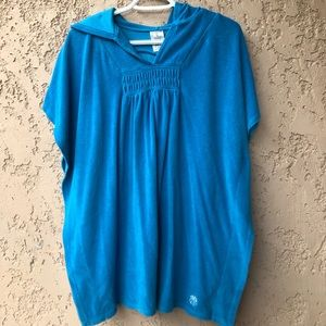 LANDS'END CHILDRENS POOL COVER UP- XL (16)